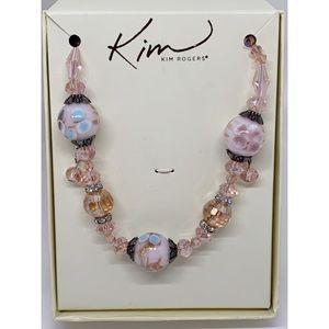 Kim Rogers Necklace & Earrings Set NIB